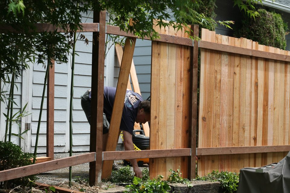 how to save money building a fence