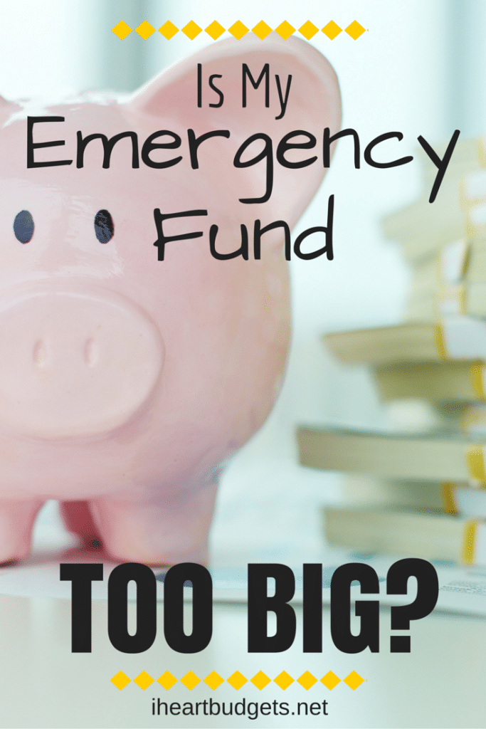 Emergency Fund Too Big