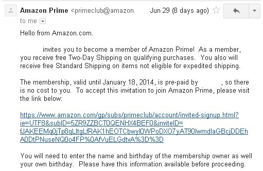 Amazon Prime 4
