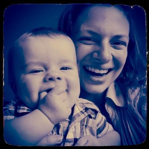 Nolan and Mama