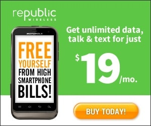 Cut Your Phone Bill By 80% With Republic Wireless