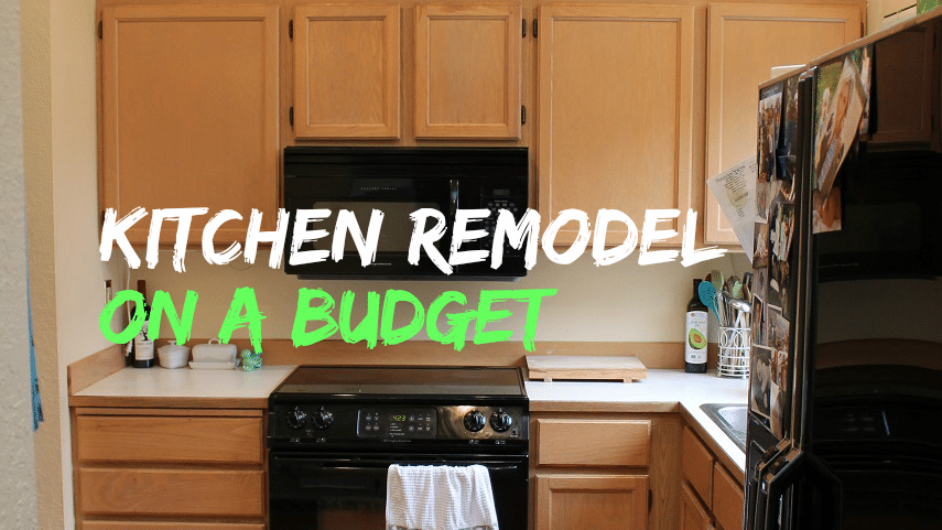 kitchen remodel on a budget part 1
