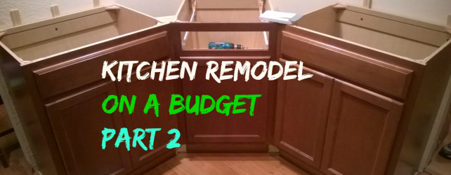 Kitchen Remodel On A Budget: Part 2