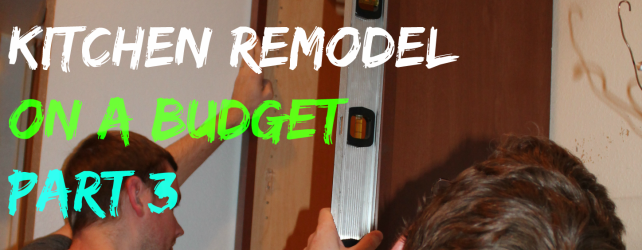 Kitchen Remodel On A Budget: Part 3