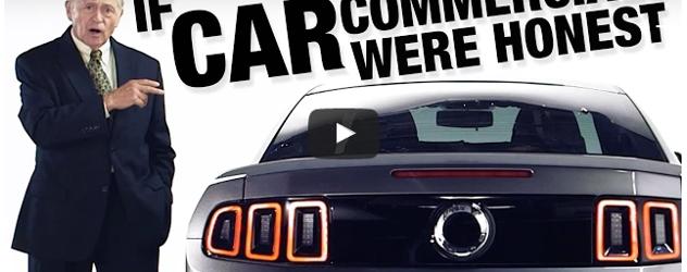 If Car Commercials Were Honest (Video)