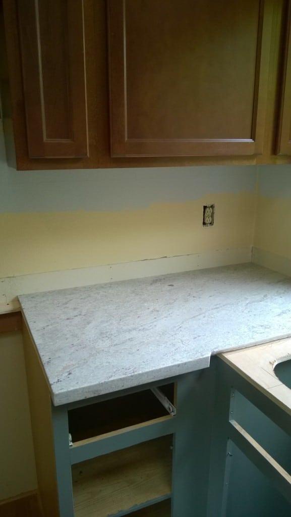 Granite Install 1