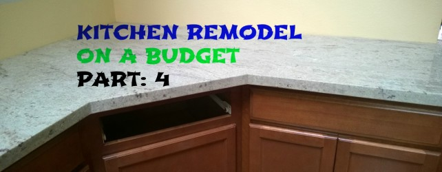 Kitchen Remodel On A Budget: Part 4