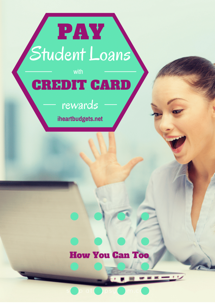 Paying Off Over $3,000 In Student Loans With Credit Card Rewards!