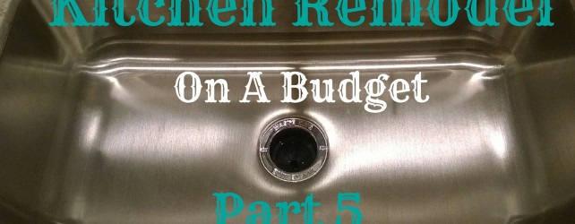 Kitchen Remodel On A Budget: Part 5