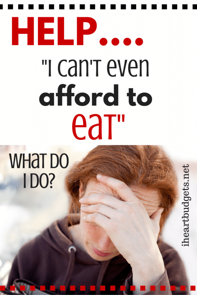 Cant Afford To Eat