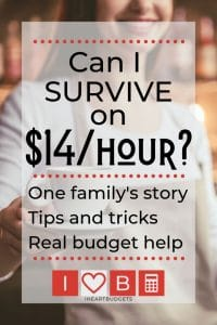 Can I Survive On $14 An Hour?