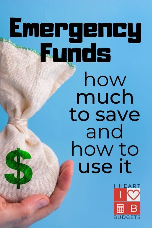 Emergency Fund - How Much To Save and How To Use It