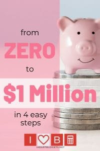Zero to 1 Million Dollars
