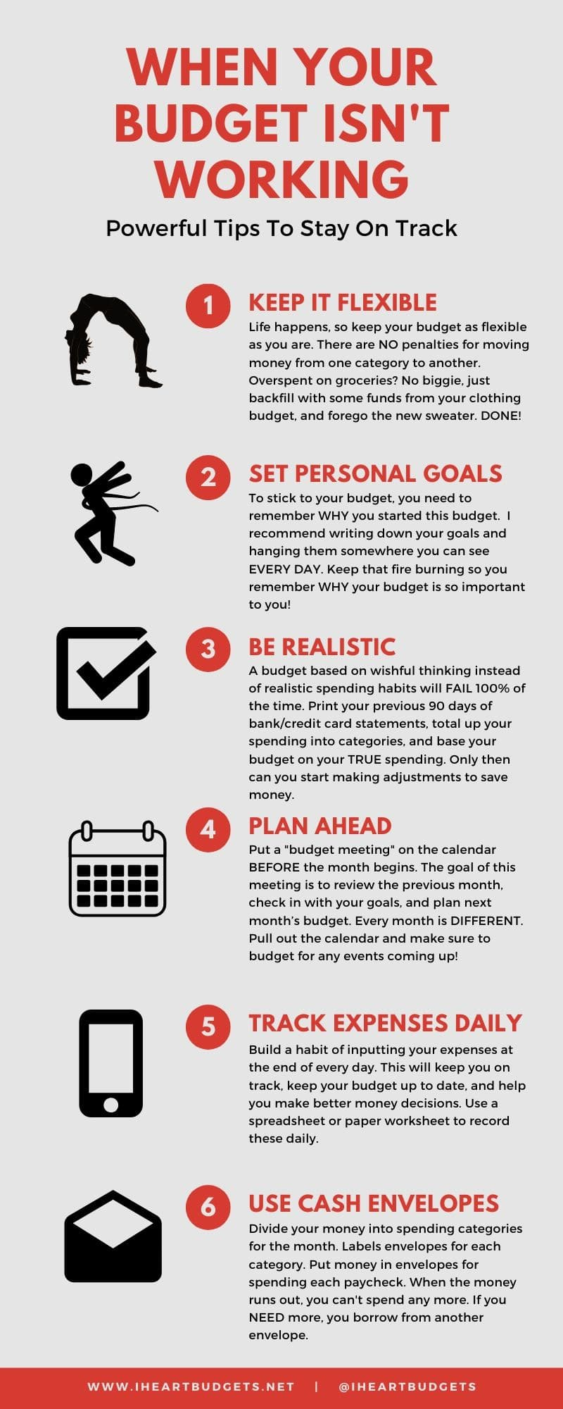 Budgeting Tips Infographic
