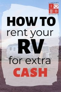How To Rent Your RV