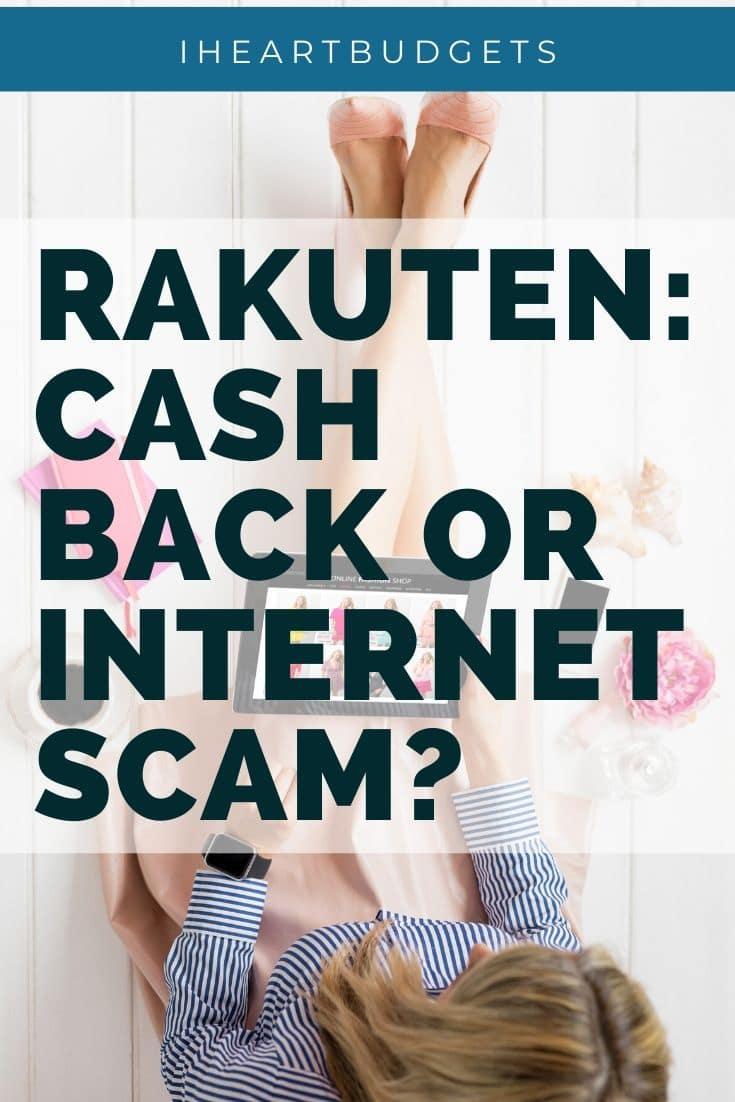 Rakuten: Scam or Legit?