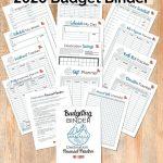 Travel Themed Budget Binder
