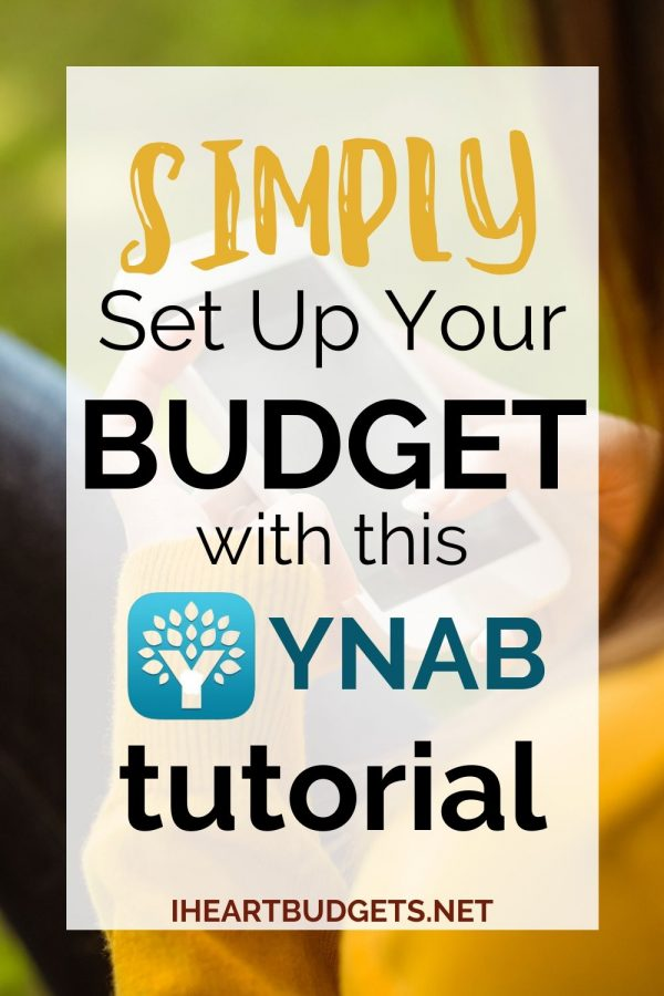 YNAB Budget Tutorial
