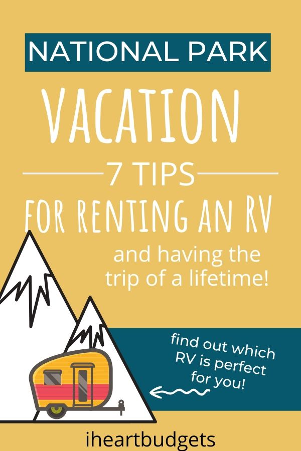 Rent An RV Tips
