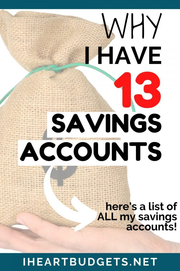 13 Savings Account
