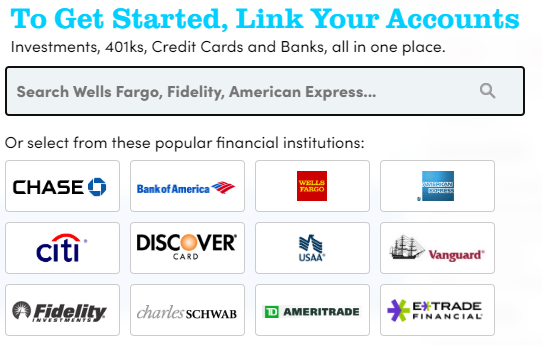 personal capital connect accounts
